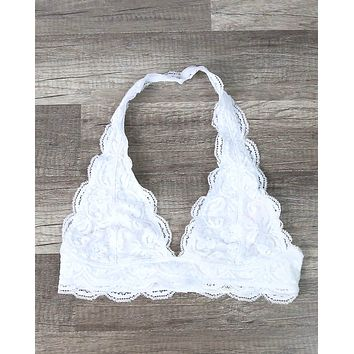 Magic Hour Halter Lace Bralette in More Colors