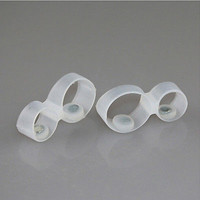 Trendy Slimming Foot Double Toe Ring Weight Loss Massage Fitness Slimming 3C5
