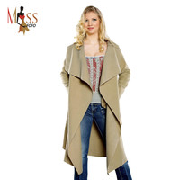 Women's wool blend Trench Coat