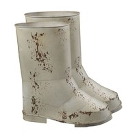 Set Of 2 Boot Planters