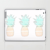 Tribal Pineapple  Laptop & iPad Skin by Sunkissed Laughter