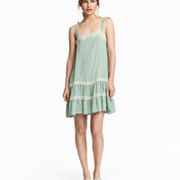 H&M Sleeveless Dress with Lace $34.99