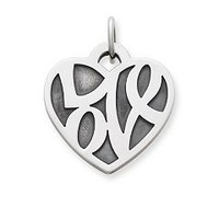 """Love"" Heart Charm 