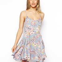 ASOS Cami Dress in Pretty Floral Print