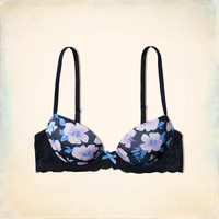GH Lace Lightly Lined Demi Bra