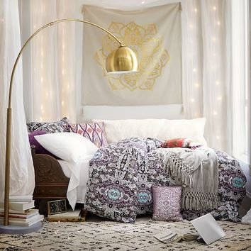 Medallion Mod Duvet Bedding Set with Duvet Cover, Duvet Insert, Sham, Sheet Set + Pillow Inserts