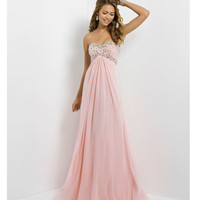 (PRE-ORDER) Blush 2014 Prom Dresses - Crystal Pink Strapless Sweetheart Prom Gown