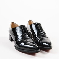 DCCK2 £¤¨¦?Christian Louboutin Black Patent Leather Pointed Toe   Zazou   Shoes