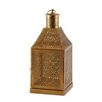 Oracle Gold Candle Lantern
