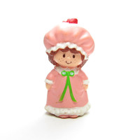 Strawberry Shortcake in Her Nightgown Pajamas Miniature Figurine Vintage Kenner Toys