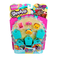 Shopkins Season 3 Figure 5-Pack (Characters May Vary)