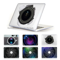 New Unique Originality For Macbook air 13.3 11 Case Hard Cover MacBook Pro 13 15 12 inch with Retina Display Camera lens Design