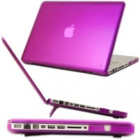 iPearl mCover Hard Shell Case with FREE keyboard cover for Model A1278 13-inch Regular display Aluminum Unibody MacBook Pro - PURPLE