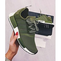 PEAPON Adidas' NMD Women Fashion Trending Running Sports Shoes Sneakers