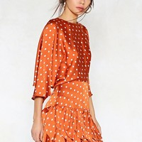 Dot to Have Your Love Polka Dot Dress