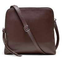 Banana Republic Double Pouch Crossbody Size One Size - Oxblood