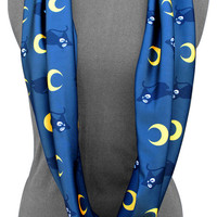 Sailor Moon Insp. Infinity Scarf in Luna