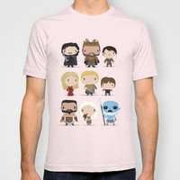 Mini Game of thrones characters T-shirt by Maria Jose Da Luz