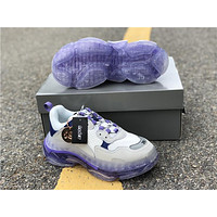2019 Balenciaga Triple S Trainers White/Purple