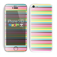 The Bright Vector Striped Skin for the Apple iPhone 5c