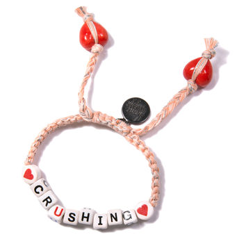 Venessa Arizaga Crushing Bracelet Peach One