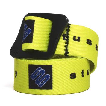 Printed Web Climbing Belt Yellow