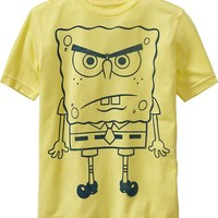Old Navy Boys Spongebob Squarepants Tees