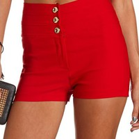 STACKED HIGH WAIST MILLENNIUM SHORT