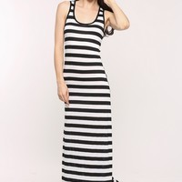 Striped Maxi Dress @ Cicihot sexy dresses,sexy dress,prom dress,summer dress,spring dress,prom gowns,teens dresses,sexy party wear,women's cocktail dresses,ball dresses