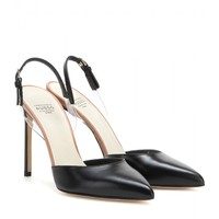 mytheresa.com exclusive leather pumps