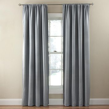 Eclipse Corsica Polyester Face Fabric Curtain Panel