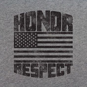 American Honor and Respect T-Shirt