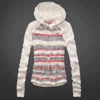 Avalon Place Hooded Shine Sweater