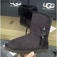 UGG Women Fashion Winter Snow Boots Half Boots Shoes