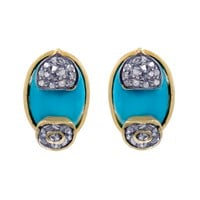 Remi Turquoise Studs | Lady Kismet | Wolf & Badger