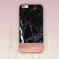 Rose Gold Marble Print Phone Case  - iPhone 6 Case - iPhone 5 Case - iPhone 4 Case - Samsung S4 Case - iPhone 5C - Tough Case - Matte Case