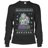 Rick And Morty - Wubba Lubba Dub Dub - Unisex Long Sleeve T Shirt - SSID2016