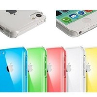 AceAbove iPhone 5C Case Slim Ultra Fit Crystal Clear Hard Case / Cover for iPhone 5C