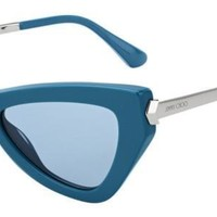 Jimmy Choo - Donna S Azure Sunglasses / Blue Avio Lenses