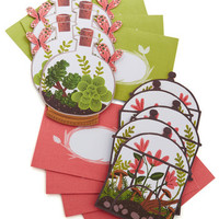 Terrarium of Expertise Notecard Set by Chronicle Books from ModCloth