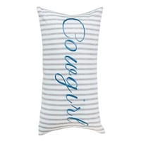 """Cowgirl Kim Vintage """"Cowgirl"""" Pillow"""