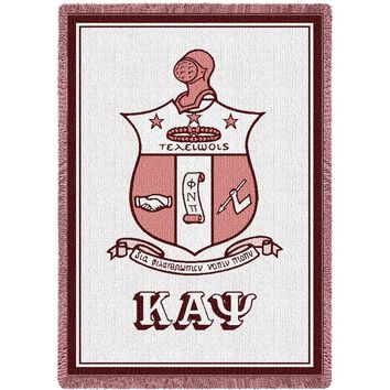 Kappa Alpha Psi Throw Blanket