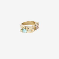 Cut Out Bejeweled Ring