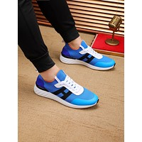 HERMES 2021 Woman's Men's 2020 New Fashion Casual Shoes Sneaker Sport Running Shoes07060cc