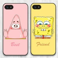 Best Friends Spongebob Squarepants Patrick Star iPhone Cases (Now Available for iPhone 6) plus FREE SHIPPING*