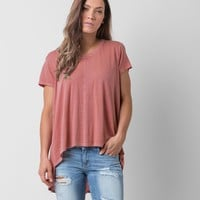 Amuse Society Buckle Top