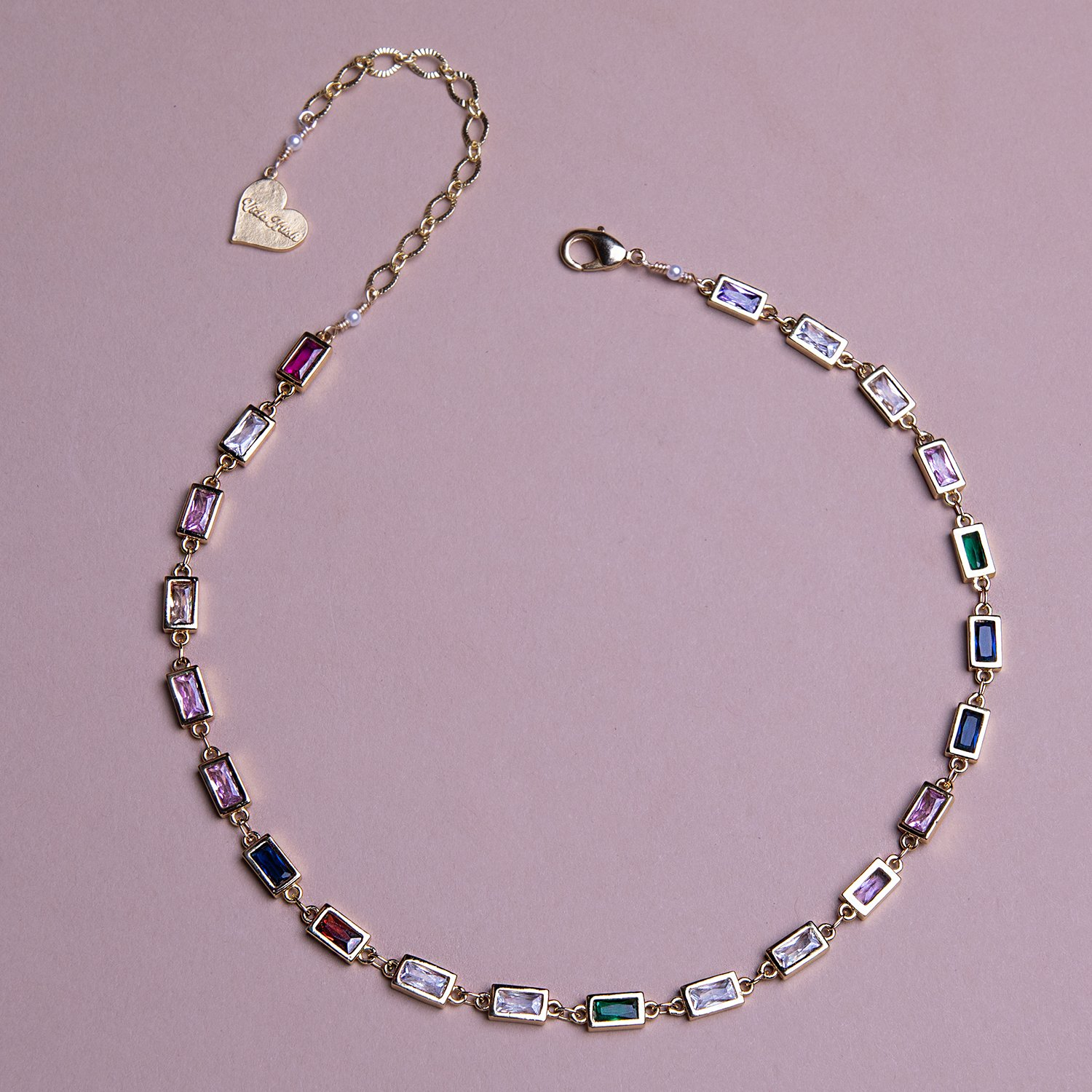 Image of Rectangle Prism Choker