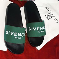 Givenchy Women Men Letters Sandals Slippers Shoes-4