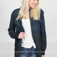 Forrest Wonder Plaid Dress | Navy & Green