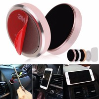 Universal Magnetic Support Cell Phone Car Dash Holder Stand Mount For iPhone 5 6 7 for samsung xiaomi Car mounted magnet stands